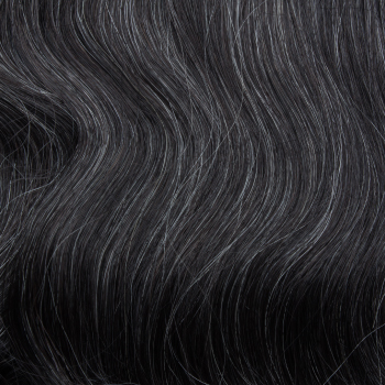 natural pepper and salt gray hair extensions for volume