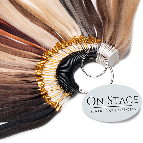 onstage hair extensions color ring